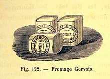 """Les premiers """"Petit Suisse"""" de la marque Gervais"""