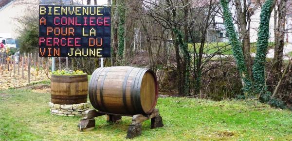 De Perrigny à Conliège - 18ème Percée du Vin Jaune 2014
