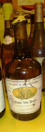 Clavelin de Vin Jaune - AOC L'Etoile - 1996 Domaine de Montbourgeau - Jean Gros, vigneron à l'Etoile