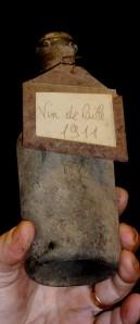 Petite bouteille de 37.5 cl - Vin de paille 1911 de chez Jean Bourdy