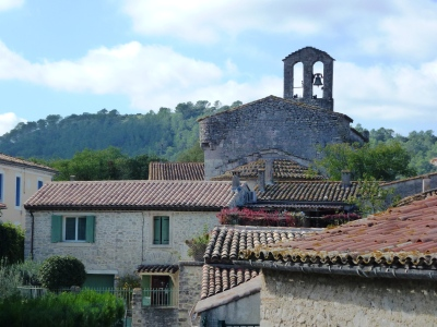 Eglise de Sainte Croix de Quintillargues et centre village