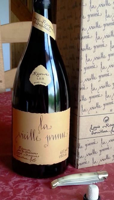 Vieille Prune de la distillerie Louis Roques à Souillac