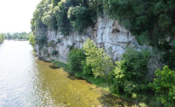 La Dordogne à Souillac