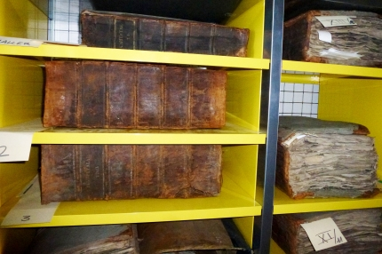 Vieilles collections reliées